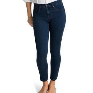 Spanx The Slim-x Ankle Midnight Rise Jeans 24 NWT